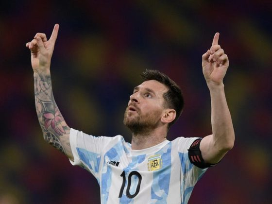 Lionel Messi Sets New Record with Argentina