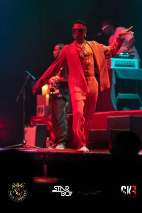 Wizkid Made In Lagos Tour Houston Bayou music center