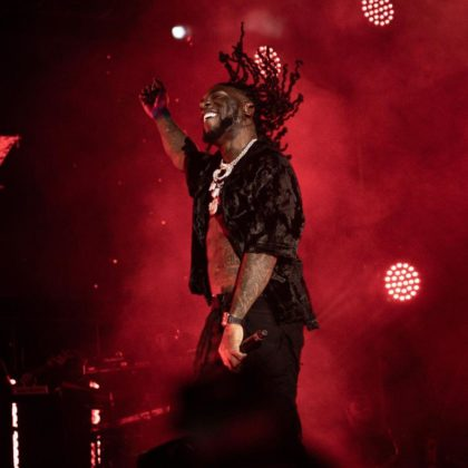 See Reactions to Burna Boy's Hollywood Bowl Performance