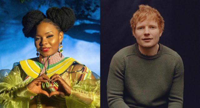 Yemi Alade Ed Sheeran Prince William Earthshot Prize Awards