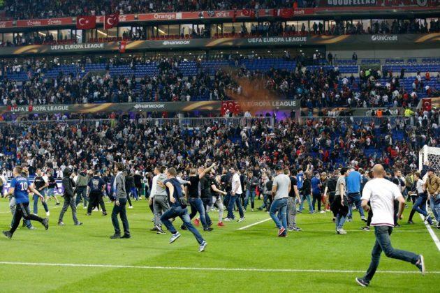 Olympique Lyon Clash
